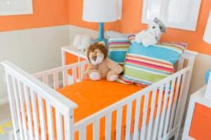 חדר תינוקות מעוצב